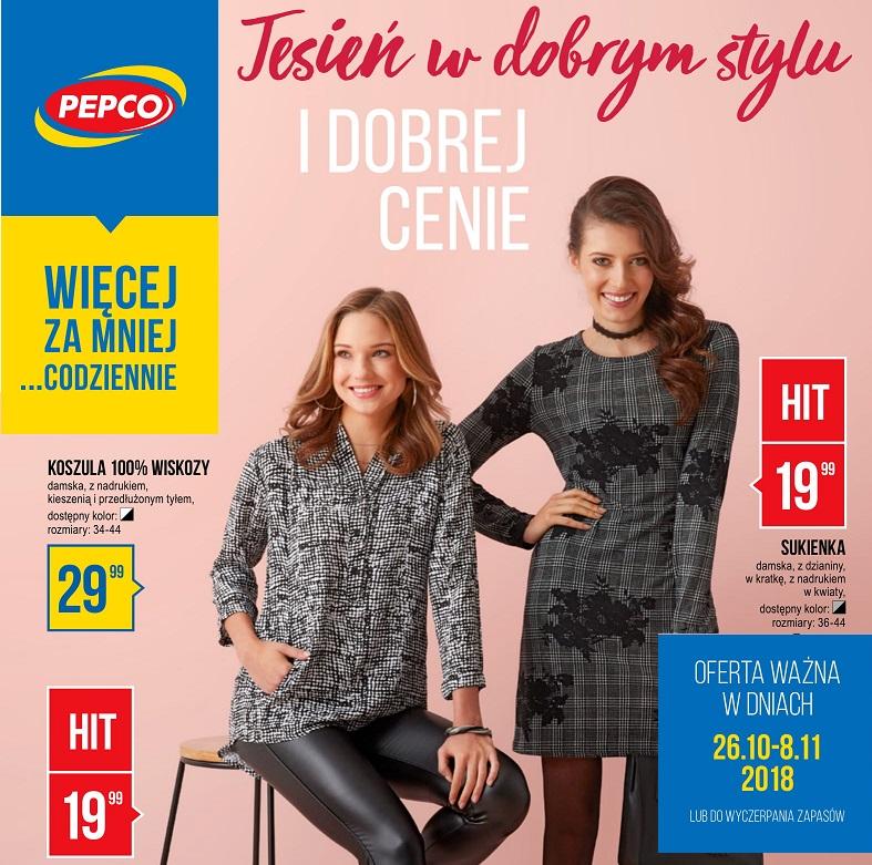 Nowa Gazetka PEPCO od 26.10.2018 | Jesień w Dobrym Stylu